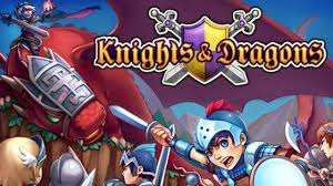 Knights and Dragons. RPG for iOS and Android, from Gree
