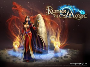Runes of Magic. MMORPG, from Frogster (Gameforge)